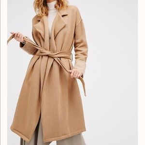 NWOT Free People Undercover Coat